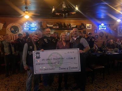 Deacons of Deadwood Grant $19,000 to His Grace Foundation